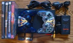 For sale is PlayStation 2: Console comes with 6 games, 2 Memory Card, 2 Controllers. in the pic. are only 4 games, but 6 games comes with it. All are in excellent working condition. Games included are: Arc the Lad Twilight of the Spirits