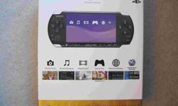 Selling Brand New In Box Sony Playstation Portable PSP-3000 factory sealed (BNIB, never opened, unbroken Sony seals)   Core pack system contains ... Piano Black system AC power cord AC adaptor Battery pack   Includes receipt for warranty purposes.   Also