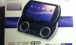 Like new. I've used it only 3 times. The model is European but you can still play online, download games from the ps store etc. It's just that the wall charger is European. But you can charge the psp go with an USB adapter with the included USB cable.