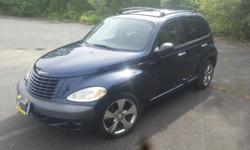 Make Chrysler Model PT Cruiser Colour Blue Trans Automatic kms 184000 2003 Pt Cruiser. 2.4 L, 16 valve engine. Runs and looks good. Power windows, door locks, cruise control. Heat blows hot, A/C blows cold. Automatic transmission. 17 inch wheels, 225/45