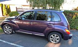 Make Chrysler Colour Purple Trans Automatic kms 202000 2004 2.4 Turbo Engine AS IS needs some work.(right front ball joint, brakes need checked and back tires) Has been a very reliable car and stiil runs well very spacious. Clean inside