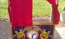 Melissa & Doug Puppet theatre stand. Gently used and in great shape. $50. Prefer text or email. Please check out other items for sale in my listings.