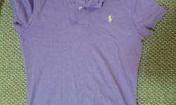 Ralph Lauren Polo Shirt, Size M, 100% Cotton, worn once.