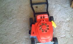 2 mowers. one looks and sould like a regular mower. the other pops .   $5 each or $8 for both.  call 604 858 6955