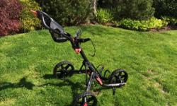 Collapsible Clic Gear 3.0 Push Golf Cart