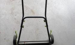 Lawn master push reel mower, just over a year old. Perfect for a small area, blades are sharp, hardly any use. $25 obo