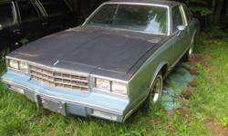 1984, chev monte carlo...$700 firm. will not go any lower as I have just lowered the price. needs very little for inspection. Can be seen at 185 Pleasant Grove Rd. We are located at 77 incase you have any questions. You can call us at 672-2740. The car is