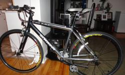 Selling an adult size SCHWINN 21 speed road bike like new condition, everything works great, bike has 700c double wall aluminum wheels with front & rear quick release, (road tires) , on board electric odometer / speedometer cost $40.00 ,18 inch aluminum