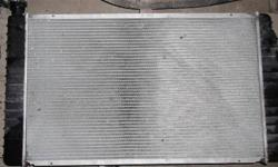 Radiator for a 305 V8 Engine. I believe it will fit a 350. Used only for a few weeks until trucks transmission went. In very good shape.   ALL PRICES NEGOTIABLE. CHECK OUT MY OTHER ADS FOR MORE GREAT DEALS TEXT 9057167777 OR REPLY TO THIS AD. NO PHONE