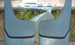 1 Pair Dodge Ram Mud Flaps never used with Hardware $20.00.