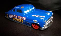 This is a most sought after vehicle. Doc Hudson all done up in his Racing Colours. Excellent condition! All my items come from a smoke free home. Please check out my other ads for lots more toys including more from Disney Pixar Cars 2 and household items.