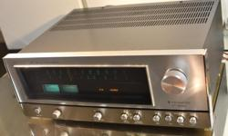 EXCEPTIONAL BUILD MCINTOSH - LIKE SOUND NICE SHAPE, WORKS AND SOUNDS GREAT Designed by Kensonic Labs, including folks who founded Accuphase. Was cleaned and detailed in and out; All controls and connectors de-oxidized and lubed All-original circuits, no