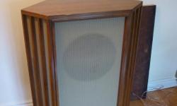 Offering a very rare chance to own the Tannoy Silver in beautiful corner cabinet.This exact speaker dates from approx. 1957,as they were only made for 3 years.More 15 inch units were made than the 12's. Perfect driver and crossover,never removed from