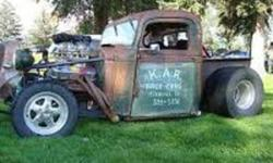 RARE 1937 GMC truck for sale or rat rod ,THE TRUCK IS APART ,i have two cabs,one is for parts and the other can be made  nice out of the two,have the original frame,4 pc hood,rad shell ,two sets of doors  two dashs,original gauges, door and back