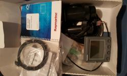 REDUCED today !!!!!!!!!!!!!!!!!!!!!!!!!!!! This is an in the box brand new complete package from Raymarine.