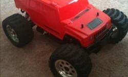 I have an electric rc car that comes with 2 batteries and charger and brand new body pretty much This ad was posted with the Kijiji Classifieds app.