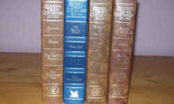 4 readers digest condensed books.  can deliver