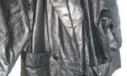 -Have Real Leather long dress coat size Medium $20.00 -Mens smoke jacket or sweater size med $ 10.00 -Mens grey wool sweater size med $10.00 thanks for looking, please check out my other postings, item will come down when it is gone. also can deliver