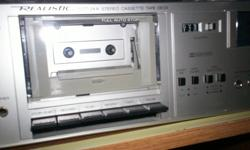 Dolby Stereo, tape deck, full auto stop, counter, etc. Excellent condition.