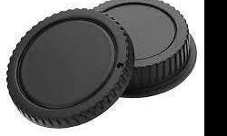Rear Lens Cap Cover for Canon Rebel EOS EFS EF EF-S EF DSLR SLR - Brand new and high quality Non-OEM replacement - Can be placed on the camera body when no lens is attached to protect your camera from dust, moisture and fingerprint - The rear lens cap is