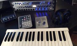 Presonus hardware, used for one CD project. Selling due to downsizing. All gear in mint condition. All bought from Long and McQuade music stores. Totals $2300.00 new. Letting it all go for a package deal of $750.00, including all patch cables and power