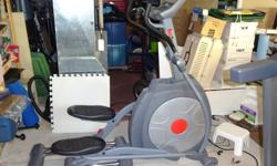 For Sale: Red Zone Fitness E56i elliptical trainer. excellent shape, need to make room for basement reno. $400.00 OBO, please e-mail or call Brad at 613-831-3893. Located in Carp off of Richardson Side RD