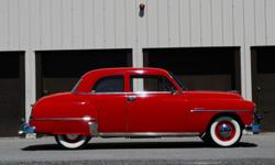 Make Plymouth Colour RED Trans Manual kms 50000 **RARE** 2-door Club Coupe Stored inside most of it's life, this Red beauty is easy to drive, very trouble free and can sustain highway speeds with ease. I've had my fun restoring and showing it for the last