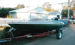 1987 Sidewinder - 16ft speed/ski boat includes 175 HP Mercury BlackMax outboard and trailer. Reduced to $3200.00
