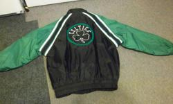 Reebok men's spring jacket for sale. Size is large, Celtics Logo. Like new. Only $25. We are located in Orleans. See our list of other items for sale. First come, first served.
