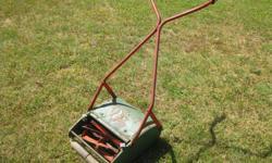 Its old but still cuts grass.