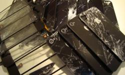 Replace crack iphone 4 screen for only 80 dollars (free installation) Replace crack iphone 3GS or 3G for only 40 dollars lowest in town 3gs LCD light burn out, we'll fix it for 45 dollars No problem !!!! Replace Blackberry LCD 9700/9780 for only 70