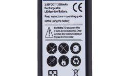 Replacement Li-ion Battery For SAMSUNG Galaxy S5 MINI/G870/SM-G800 2300mAh -New replacement Non-OEM battery for Samsung S5 Mini -Type of battery: Li-ion Battery -Integrated microchip inside prevents overcharging and lengthens battery life -Battery
