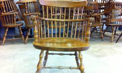 Restaurant Hardwood Captain chairs for sale. Great condition, $25[or best offer] each chair...must buy all chairs [approx. 40] Original cost $140/ea new!!! Great for someone opening a restaurant or just expanding! Call or email for more info. or to see