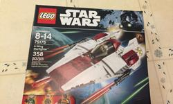 BRAND NEW LEGO Star Wars A-Wing, recently retired, up for sale. Set is unopened, all pieces accounted for. Pick up only at South Keys area. Thanks for looking.