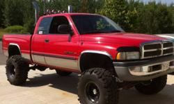 Please help! Around the night of Aug 28 or morning of the 29 some person or persons stole the tires right off my red dodge ram 1500 that I was trying to sell. The tires are BIG rubber the size is Thornbirds TSL 38.5x14.5x16 black spoke rims. They where