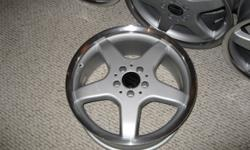 """Set of 4 18"""" rims Brand New Never Used.  Paid $980.00 asking for $580 OBO.  Ordered wrong size for my tires."""