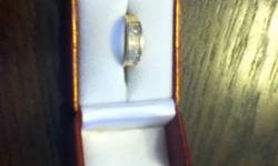 10K Diamond Rings For Sale-$250.00 OBO