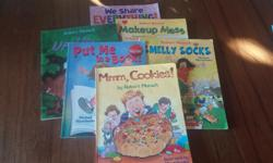 6 classic Robert Munsch soft cover children's books in excellent condition. Lots of other books for sale...see my other ads. Thanks for looking!