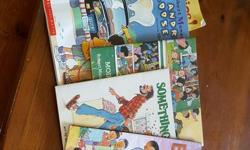 8 X Munsch books as per foto - all are in great condition. I have to go! We share everything Something good Moira's birthday Andrew's loose tooth Mmm, Cookies! Mud Puddle 50 Below 0