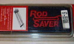 """Keep your Fishing Rods safe and secure on deck with the """"Rod Saver"""" tm Fishing Rod Holder. """"Brand New"""" Unopened in original packaging. Comes complete with Stainless Steel mounting hardware. Terms: Cash and carry, Interac e-Transfer and Pay Pal only."""