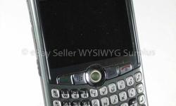 BlackBerry Curve 8310 in Gray for Rogers. No Contract, works well. Good for Pay As You Go or a monthly plan. Price includes wall charger, USB cable & 7 day exchange policy. Way more available in-store - visit CellCycle.ca at 94 Bayfield St in Barrie! Call