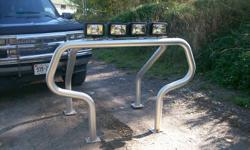 aluminum roll bars with 4 *100w lights and also westin step bars for 50.00and a dodge 2007 box liner for 100.00 please call after 3pm or email me at richardtrotts @hotmail.com thanks.