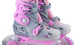 For sale roller blades for girls size 1-3 great condition