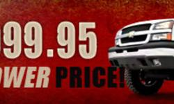 "We've raised the bar and lowered the price of our 6"" NTD suspension for '99 - '06 Chevy/GMC 1500 pickups a full $200! Gain greater clearance, better handling, and the cleanest looking 6"" lift available for just $999.95 Can. Dollars, all while keeping your"
