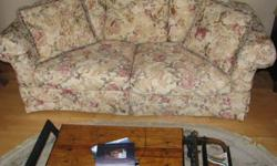 Large Sofa & Chaise Lounge for sale. High Quality pieces all hand made by Rowe Furniture. Excellent condition!! Couch is 80''L x36''W x 36''H Call for info $1000.00 for both pcs OBO MUST MOVE