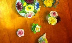 Royal dolton and royal Albert? Ceramic flowers. Make me an offer Call Jeremy 5198164532 Can give more info and details when I'm contacted This ad was posted with the Kijiji Classifieds app.