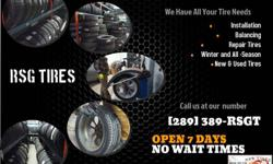 Looking for New and Used Tires but at a good price? Look no further! We have the CHEAPEST TIRES in the Hamilton area along with excellent customer service and no wait time. Worried about your size of your tire or if we have good enough thread? WE HAVE ALL