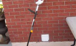 Ryobi electric grass whip, Trimmer Plus for sale. 2 speeds. Only $45. We are located in Orleans. See our list of other items for sale. First come, first served.