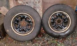 2 RIMS off CHEV S-10. 14 inch, 5 bolt
