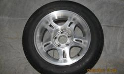 2002 s-10 xtreme rims and tires. wheels are 16' and tires are BFGoodrich 235-55-16 and may be good for one more summer. Rims are in better than average condition with some clear peeling and includes the centre caps, also in good condition.